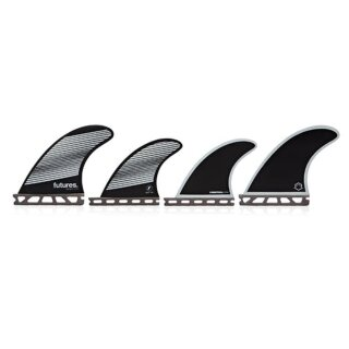 FUTURES Quad Fin Set F4 Honeycomb Legacy